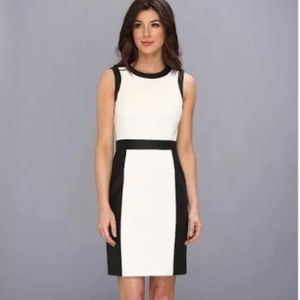 Vince Camuto Perforated Slim Suiting Women's Dress